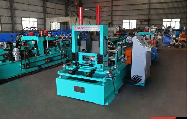 GCr15 Roller Thickness 2mm C Purlin Forming Machine